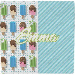 Popsicles and Polka Dots Ceramic Tile Hot Pad (Personalized)