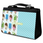 Popsicles and Polka Dots Classic Tote Purse w/ Leather Trim (Personalized)