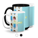 Popsicles and Polka Dots Coffee Mugs (Personalized)