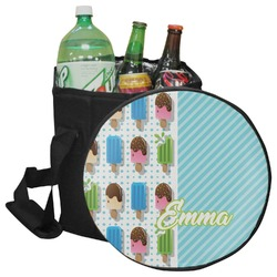 Popsicles and Polka Dots Collapsible Cooler & Seat (Personalized)