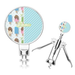 Popsicles and Polka Dots Corkscrew (Personalized)