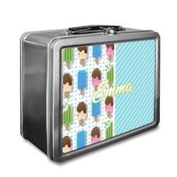 Popsicles and Polka Dots Lunch Box (Personalized)