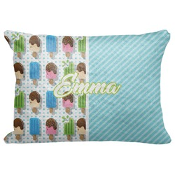 """Popsicles and Polka Dots Decorative Baby Pillowcase - 16""""x12"""" (Personalized)"""