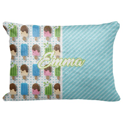 "Popsicles and Polka Dots Decorative Baby Pillowcase - 16""x12"" (Personalized)"