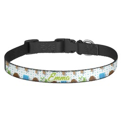 Popsicles and Polka Dots Dog Collar - Multiple Sizes (Personalized)