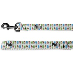 Popsicles and Polka Dots Deluxe Dog Leash (Personalized)