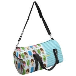 Popsicles and Polka Dots Duffel Bag (Personalized)