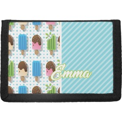 Popsicles and Polka Dots Trifold Wallet (Personalized)