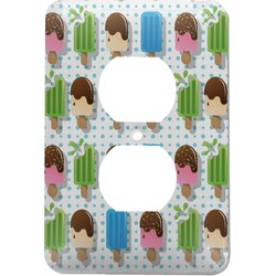 Popsicles and Polka Dots Electric Outlet Plate (Personalized)