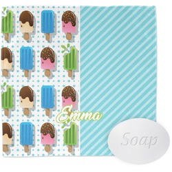 Popsicles and Polka Dots Washcloth (Personalized)