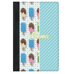 Popsicles and Polka Dots Genuine Leather Passport Cover (Personalized)
