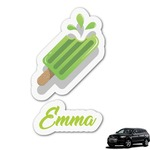 Popsicles and Polka Dots Graphic Car Decal (Personalized)