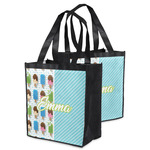 Popsicles and Polka Dots Grocery Bag (Personalized)
