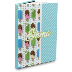 Popsicles and Polka Dots Hardbound Journal (Personalized)