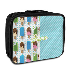 Popsicles and Polka Dots Insulated Lunch Bag (Personalized)