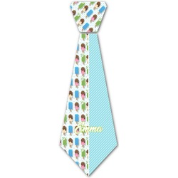 Popsicles and Polka Dots Iron On Tie (Personalized)