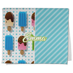 Popsicles and Polka Dots Kitchen Towel - Full Print (Personalized)