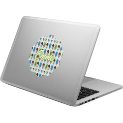 Popsicles and Polka Dots Laptop Decal (Personalized)