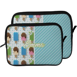 Popsicles and Polka Dots Laptop Sleeve / Case (Personalized)