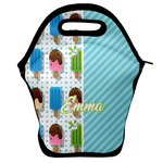 Popsicles and Polka Dots Lunch Bag w/ Name or Text