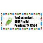 Popsicles and Polka Dots Return Address Labels (Personalized)