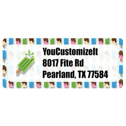 Popsicles and Polka Dots Return Address Label (Personalized)