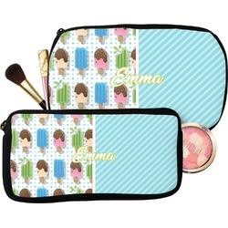 Popsicles and Polka Dots Makeup / Cosmetic Bag (Personalized)