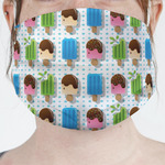 Popsicles and Polka Dots Face Mask Cover (Personalized)