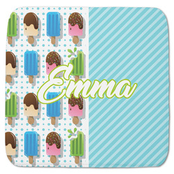 """Popsicles and Polka Dots Memory Foam Bath Mat - 48""""x48"""" (Personalized)"""