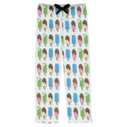 Popsicles and Polka Dots Mens Pajama Pants (Personalized)