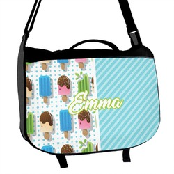 Popsicles and Polka Dots Messenger Bag (Personalized)
