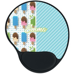Popsicles and Polka Dots Mouse Pad with Wrist Support