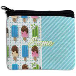 Popsicles and Polka Dots Rectangular Coin Purse (Personalized)