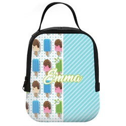 Popsicles and Polka Dots Neoprene Lunch Tote (Personalized)