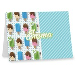 Popsicles and Polka Dots Note cards (Personalized)