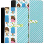 Popsicles and Polka Dots Notebook Padfolio w/ Name or Text