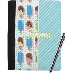 Popsicles and Polka Dots Notebook Padfolio (Personalized)