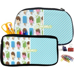 Popsicles and Polka Dots Neoprene Pencil Case (Personalized)