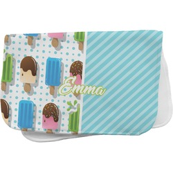 Popsicles and Polka Dots Burp Cloth (Personalized)