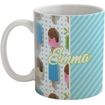 Popsicles and Polka Dots Coffee Mug (Personalized)