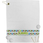 Popsicles and Polka Dots Golf Towel (Personalized)