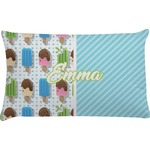 Popsicles and Polka Dots Pillow Case (Personalized)