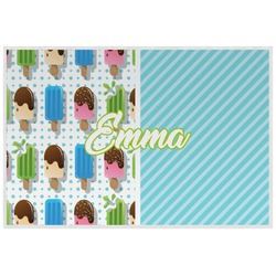 Popsicles and Polka Dots Placemat (Laminated) (Personalized)