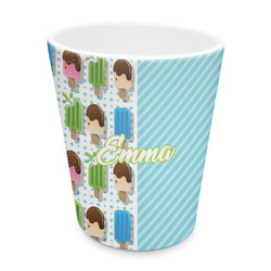 Popsicles and Polka Dots Plastic Tumbler 6oz (Personalized)