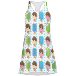 Popsicles and Polka Dots Racerback Dress (Personalized)