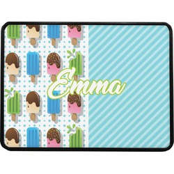 Popsicles and Polka Dots Rectangular Trailer Hitch Cover (Personalized)