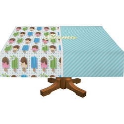 Popsicles and Polka Dots Tablecloth (Personalized)