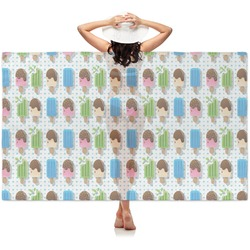 Popsicles and Polka Dots Sheer Sarong (Personalized)