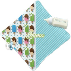 Popsicles and Polka Dots Security Blanket (Personalized)