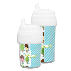 Popsicles and Polka Dots Sippy Cup (Personalized)